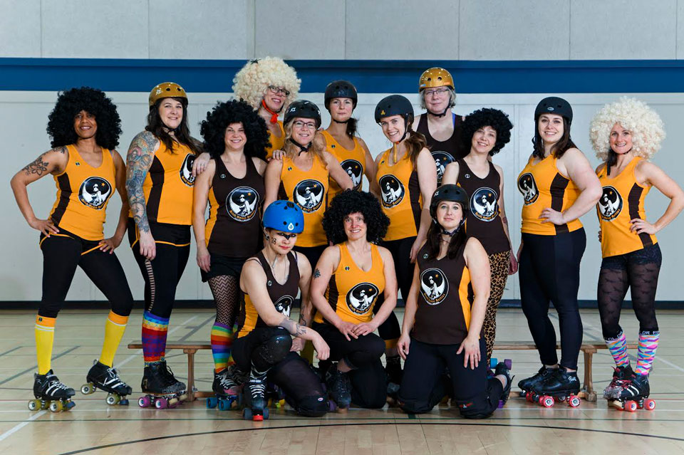 Team photo 2017 – Betties style!