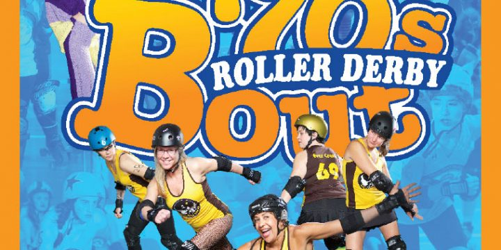 It's That 70's Roller Derby Bout!